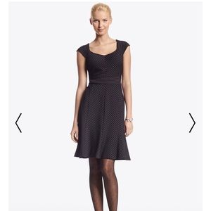 White House Black Market Pinstripe Dress